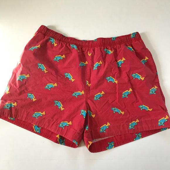 2d155cc1d6 Polo Sport Ralph Lauren Lined Swim Trunks Red Fish.  M_5adf79b15512fd4200bb0842